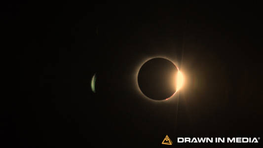 Total Eclipse with Diamond Ring